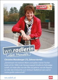 wn.radlerin Christine Mansberger